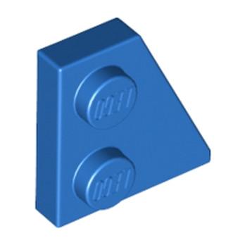 LEGO 6189202 PLATE 2x2 27DEG DROITE - BLEU