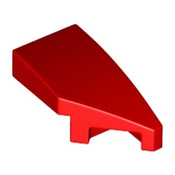 LEGO 6177507 ARQUE 1X2 DROITE 45 DEG - ROUGE