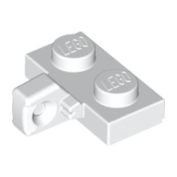 LEGO 6214612 PLATE 1X2 W. STUB/VERTICAL - BLANC