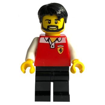 Figurine Lego® Speed Champions - Mécanicien Ferrari