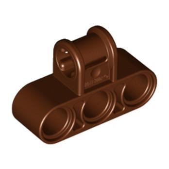 LEGO 6179615 CROSS BLOCK 3X2 - REDDISH BROWN lego-6179615-cross-block-3x2-reddish-brown ici :