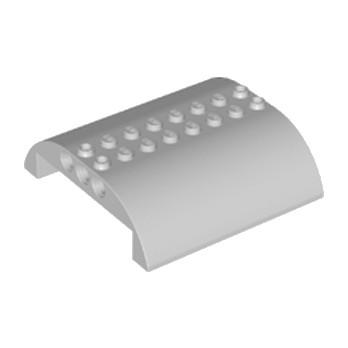LEGO 6195469 HAUT COURBE 8X8X2 Ø4.85 - MEDIUM STONE GREY