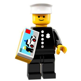 Mini Figurine Lego® Série 18 - Classic Policeman