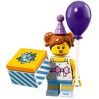Mini Figurine Lego® Série 18 - Birthday Party Girl