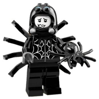 Mini Figurine Lego® Série 18 - Le Garçon déguisé en araignée