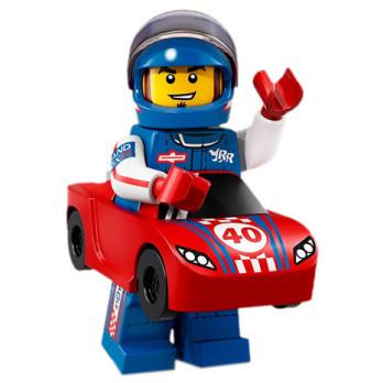 Mini Figurine Lego® Série 18 - L'Homme Voiture de Course