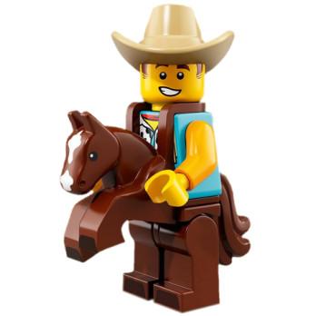 Mini Figurine Lego® Série 18 - L'homme en costume de cow-boy
