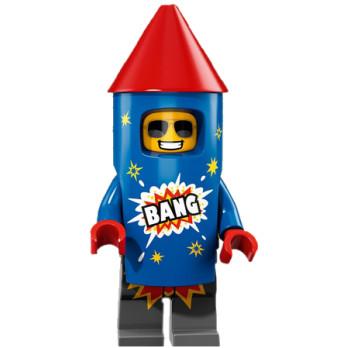 Mini Figurine Lego® Série 18 - L'homme feu d'artifice