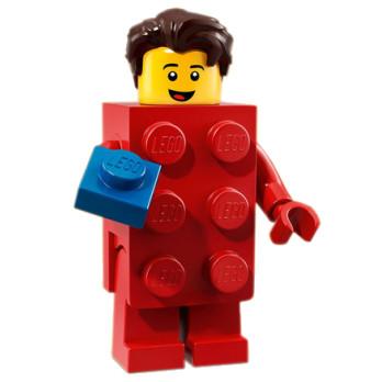 Mini Figurine Lego® Série 18 - L'homme déguisé en brique LEGO®