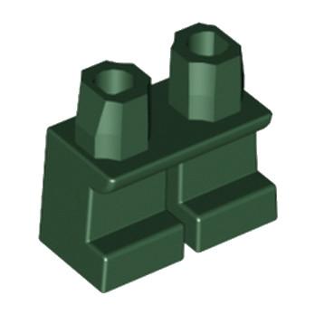 LEGO 6088409 PETITE JAMBE - DARK GREEN