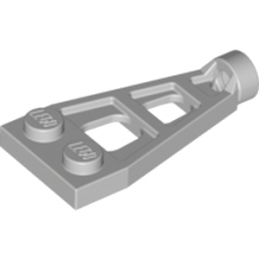LEGO 6074888 PLATE 1X2X4 W. TUBE - MEDIUM STONE GREY
