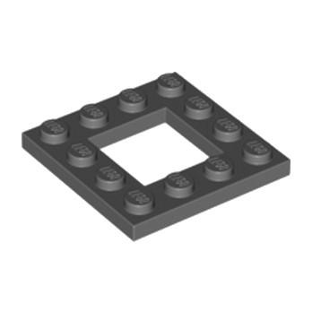 LEGO 6186825 PLATE 4X4 - DARK STONE GREY