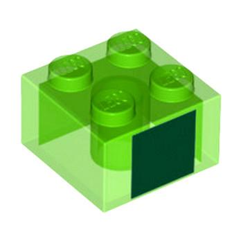 LEGO 6230170 BRIQUE 2X2 - IMPRIME MINECRAFT