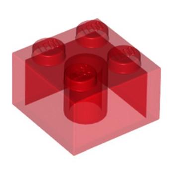 LEGO 4143335 BRIQUE 2X2 - ROUGE TRANSPARENT lego-6239416-brique-2x2-rouge-transparent ici :