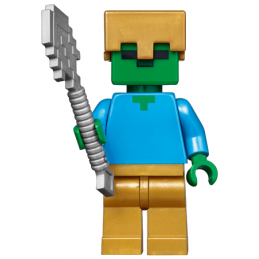 Figurine Lego® Minecraft - La Mine 21137 - Zombie