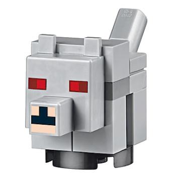Figurine Lego® Minecraft - La Mine 21137 - Bébé Loup