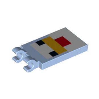 LEGO 6215373 PLATE 2X3 CROCHET - IMPRIME MINECRAFT