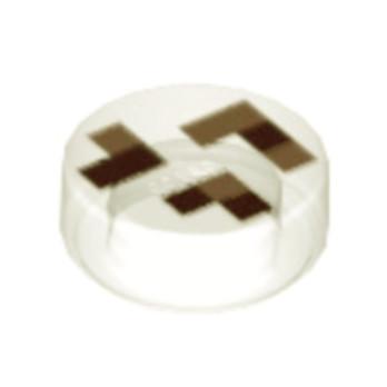 LEGO 6215145 ROND 1X1 - IMPRIME MINECRAFT