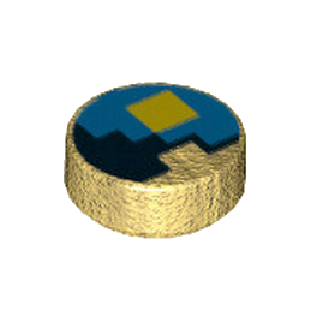 LEGO 6192748 ROND 1X1 - IMPRIME MINECRAFT