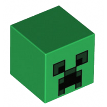 LEGO 6162485 TETE 2X2 - IMPRIME MINECRAFT