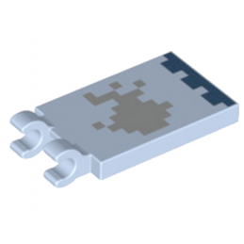 LEGO 6213799 PLATE 2X3 CROCHET - IMPRIME MINECRAFT