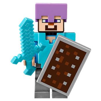Figurine Lego® Minecraft - Steve