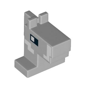LEGO 6218829 TETE ANE - IMPRIME MINECRAFT