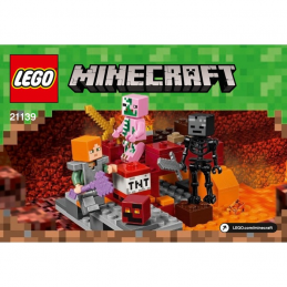 Notice / Instruction Lego  Minecraft 21139