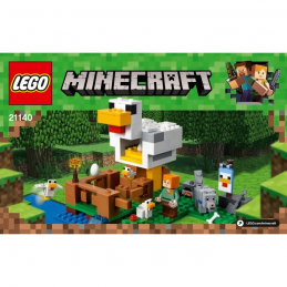 Notice / Instruction Lego  Minecraft 21140