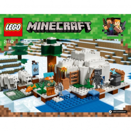 Notice / Instruction Lego  Minecraft 21142