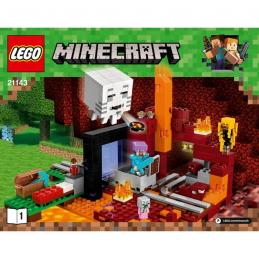Notice / Instruction Lego  Minecraft 21143