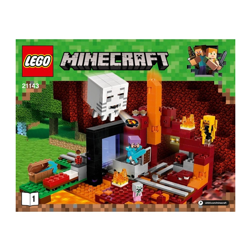 Notice / Instruction Lego  Minecraft 21143