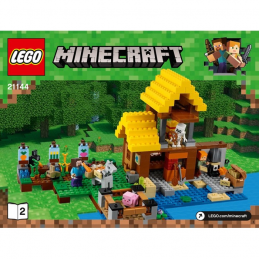 Notice / Instruction Lego  Minecraft 21144