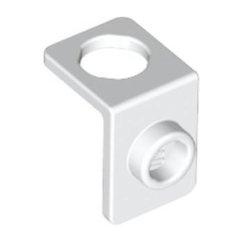 LEGO 6277181 MINI FIG. BACK PLATE W. KNOB - WHITE