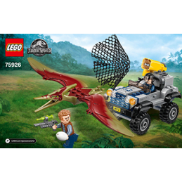 Notice / Instruction Lego  Jurassic World 75926