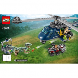 Notice / Instruction Lego  Jurassic World 75928