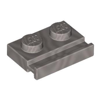 LEGO 6132264 PLATE 1X2 - SILVER METAL lego-6132264-plate-1x2-silver-metal ici :