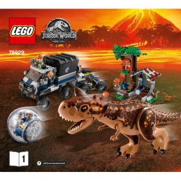 Notice / Instruction Lego  Jurassic World 75929