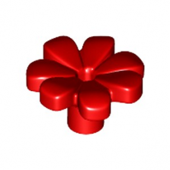 LEGO 6182260 FLEUR W/ 3.2 SHAFT, 1.5 HOLE - ROUGE