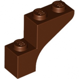 LEGO 6186577 ARCHE  1X3X2 - REDDISH BROWN