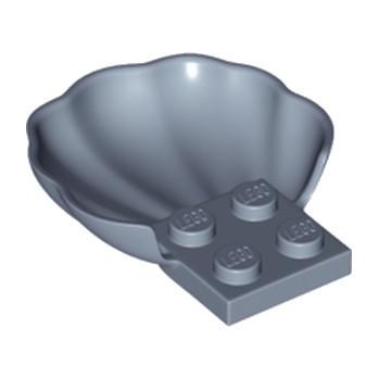 LEGO 6167177 COQUILLE - SAND BLUE lego-6167177-coquille-sand-blue ici :