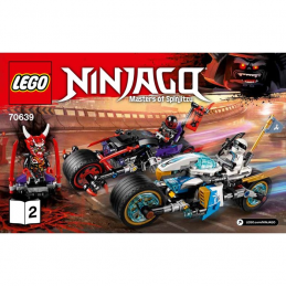Notice / Instruction Lego Ninjago 70639