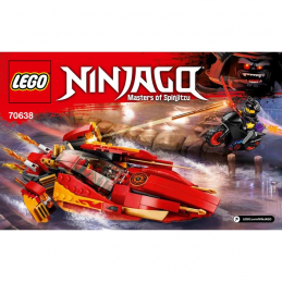 Notice / Instruction Lego Ninjago 70638