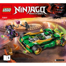Notice / Instruction Lego Ninjago 70641