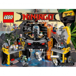 Notice / Instruction Lego Ninjago 70631