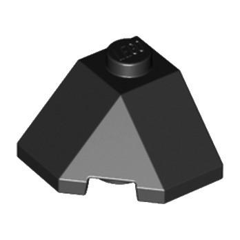 LEGO 6176768 ROOF TILE 2X2X1 45° - NOIR lego-6176768-roof-tile-2x2x1-45-noir ici :