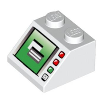 LEGO 4195657 ECRAN / ORDINATEUR TUILE 2X2 - IMPRIME