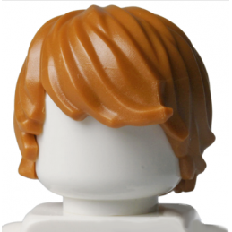 LEGO 4596523 CHEVEUX HOMME - DARK ORANGE