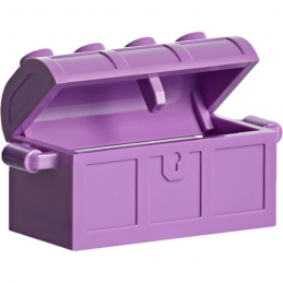 LEGO 6056226  MALLE / COFFRE 2X4 - MEDIUM LAVENDER
