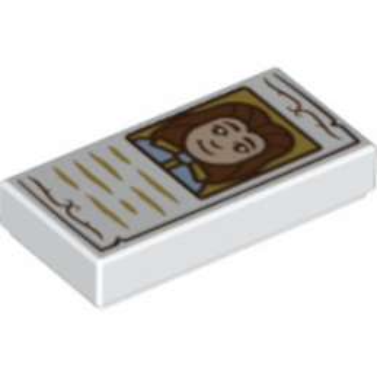 LEGO 6226360 1x2 IMPRIME DISNEY